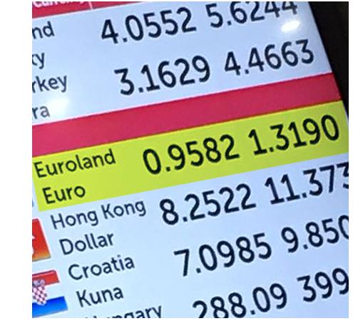 Travel money rip-offs