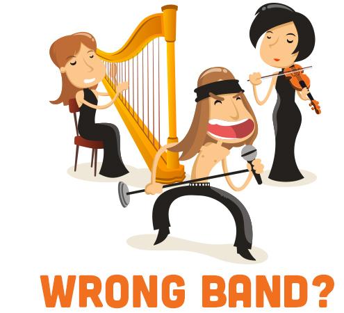 wrong band