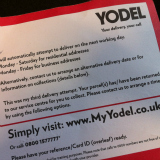 Yodel bungled my delivery